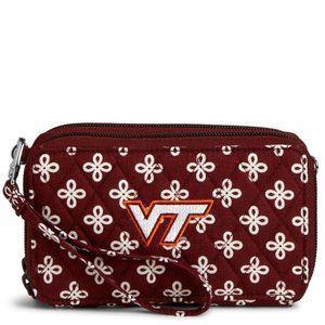 NWT Vera Bradley Virginia Tech RFID All In 1 Purse
